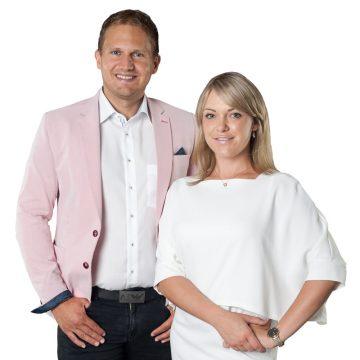 Sven Hanisch und Susanne Landerer