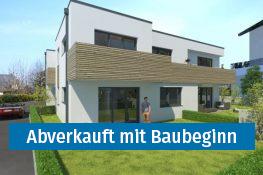 Neubauwohnungen abverkauft mit Baubeginn