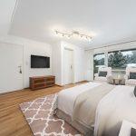 Digitale Möbliertes Schlafzimmer