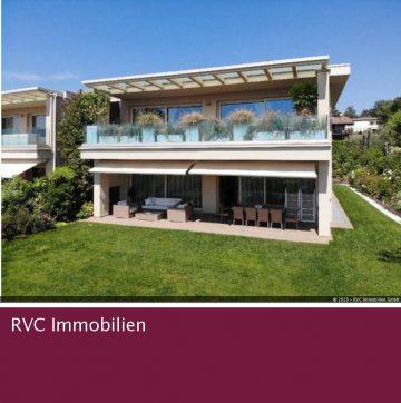 Stattliche 4-Zimmer-Wohnung in Villa, 25080 Padenghe sul Garda, Brescia, Etagenwohnung